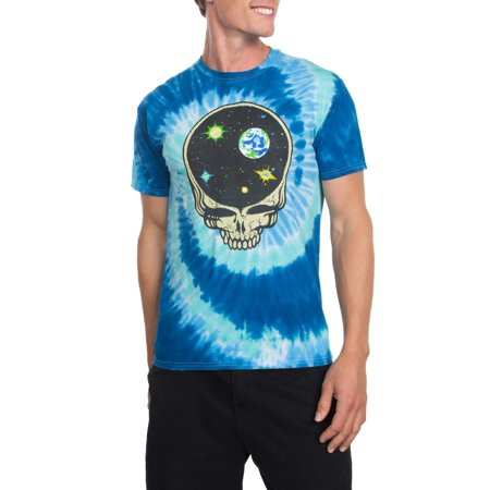 Grateful Dead Men's Space Skull Short Sleeve Graphic T-Shirt, up to Size 2XL - Grateful Dead Halloween T Shirt