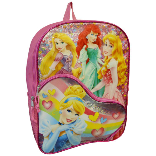 "Girls' Disney Princess 16"" Backpack"