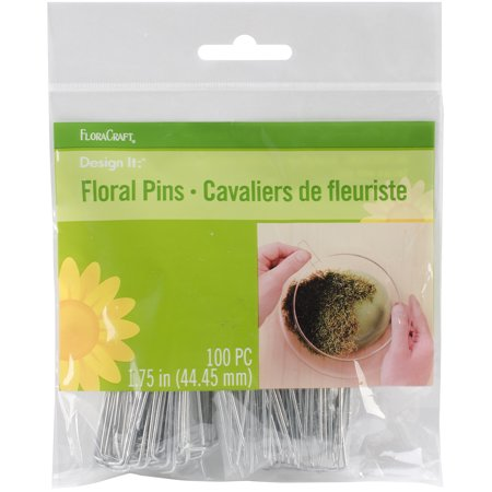 Floracraft Floral Pins, 1.75-Inch, 100 Per Package (Floral Pins)