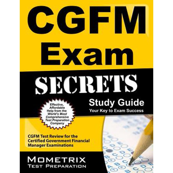 Cgfm Exam Secrets Study Guide Cgfm Test Review For The Certified