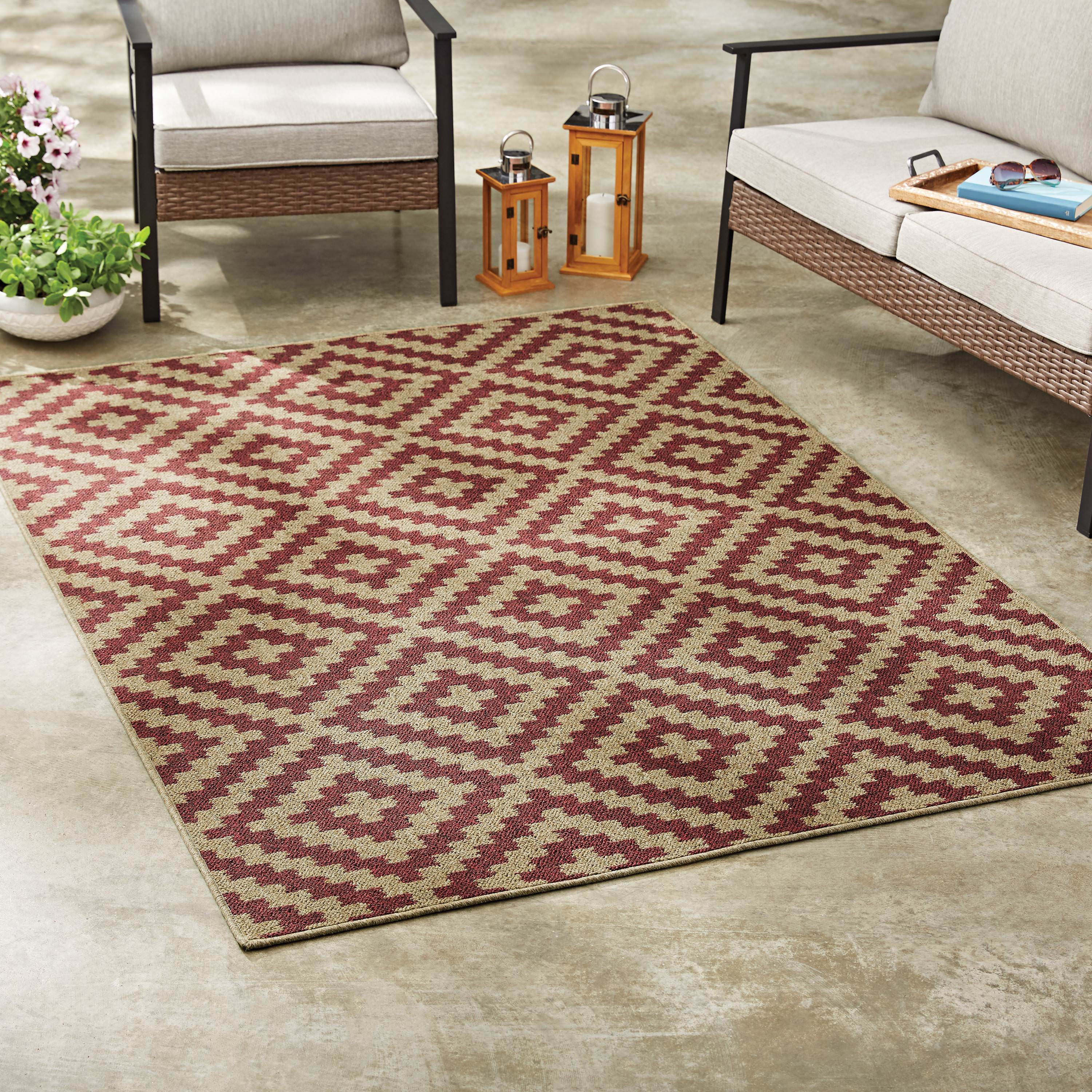 Indoor Outdoor Rugs Walmart Com Walmart Com