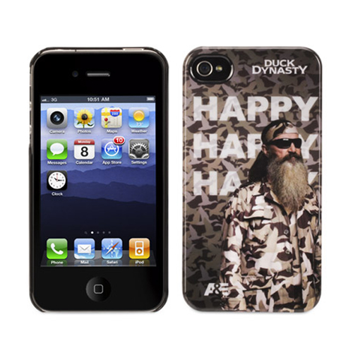 GRIFFIN GB38489 IPHONE(R) 4/4S DUCK DYNASTY(R) CASE (HAPPY)
