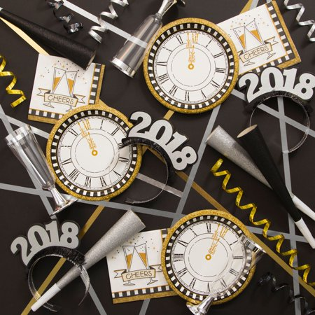Midnight Celebration New Years Party Supplies Kit for $<!---->