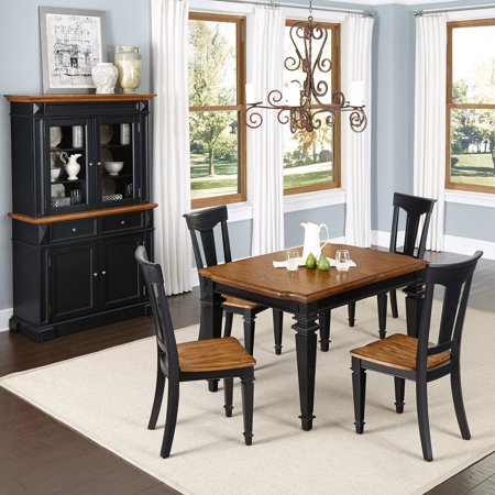 Home Styles Americana 5 Piece Dining Set With Buffet And Hutch