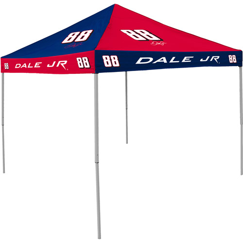 Logo Chair LCC-800-DEJ88-42C Dale Earnhardt Jr NASCAR 9 ft.  x 9 ft.  Checkerboard Color Pop-Up Tailgate Canopy Tent