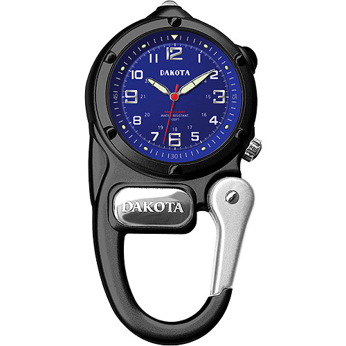 Dakota Mini Clip Microlight Watch, Blue