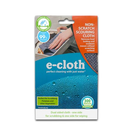 E-Cloth Non-Scratch Scouring Cloth - Brilliant Scrubber for Removing Grease and Stuck-On Food from Pots & Pans - image 1 of 2