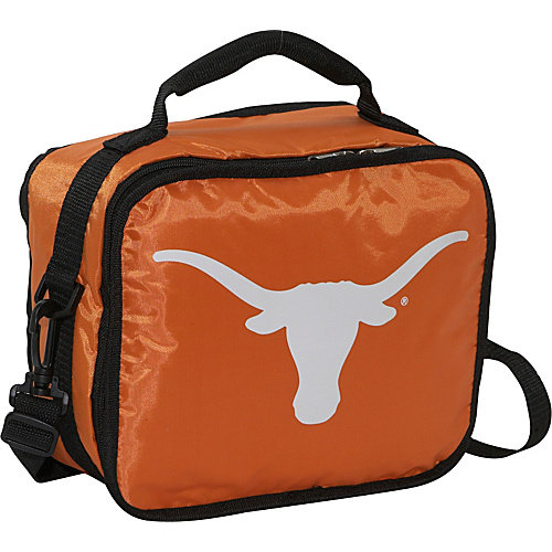 Texas Longhorns Official NCAA 10 inch  x 9 inch  x 4 inch  Lunchbreak Insulated Lunch Box Lunchbox Bag by Concept One