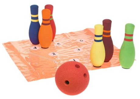 Gamenamics Sponge Bugs Kids Fun Bowling