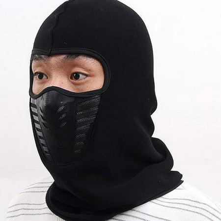 Balaclava Face Mask - Windproof Ski Mask - Fleece Hood For Men and Women -  Walmart.com e72ecd3a63