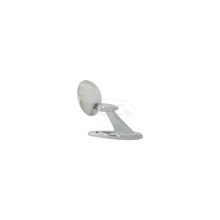 MACs Auto Parts Premier Products 66-27557 Ford Thunderbird 1-Hole Base Type Outside Rear View Mirror, Left or Right