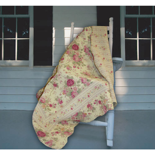 "Global Trends 60"" x 50"" Antique Rose Throw"