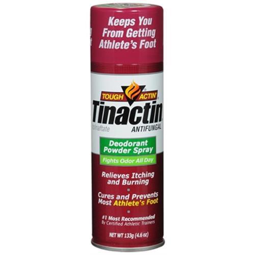 Tinactin Antifungal Deodorant Powder Spray 4.60 oz (Pack of 3)