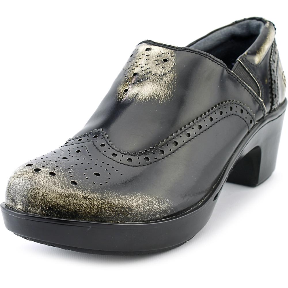 Ariat Bradford Women Round Toe Leather Black Clogs by Ariat