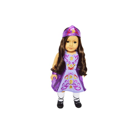 My Brittany's Lavender Irish Dance Outfit for American Girl Dolls