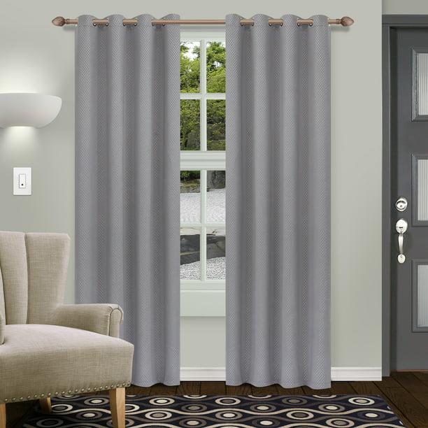 Impressions Celine Shimmer Blackout, Shimmer Curtain Panels