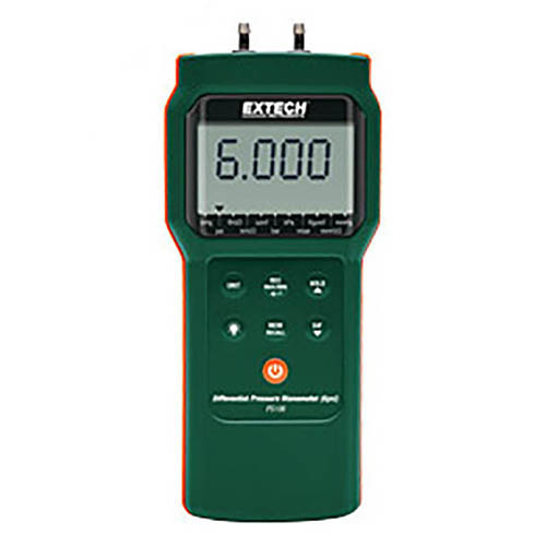 Extech PS106 Differential Pressure Manometer (6 psi)