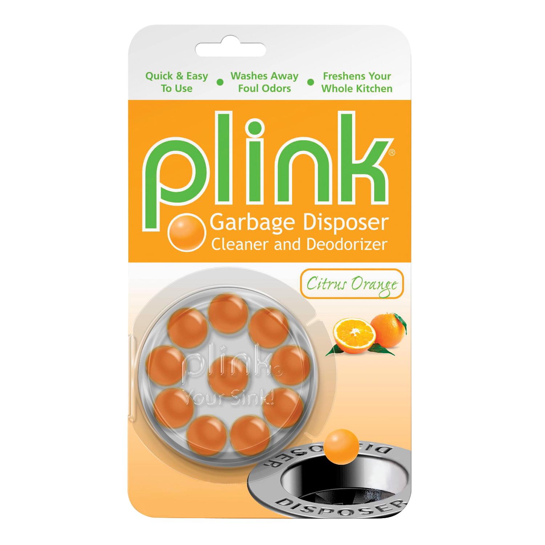 Plink Citrus Orange Garbage Disposal Cleaner & Deodorizer
