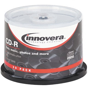 Innovera Cd-r Discs With Printable Surfa