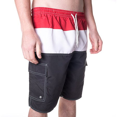 North 15 Men's Swim Trunks With Cargo Pokcets