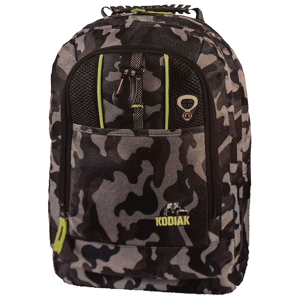 Kodiak Camouflage Backpack - Black