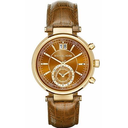 35285bcc2 Michael Kors - Women's Sawyer Chronograph Watch MK2424 - Walmart.com