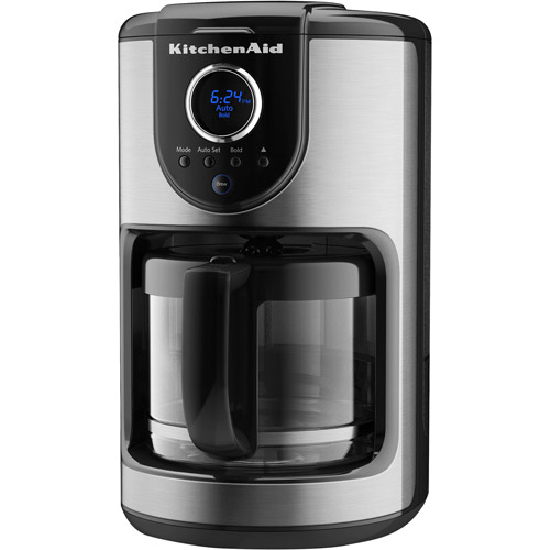 KitchenAid 12-cup Glass Carafe Coffee Maker, Black