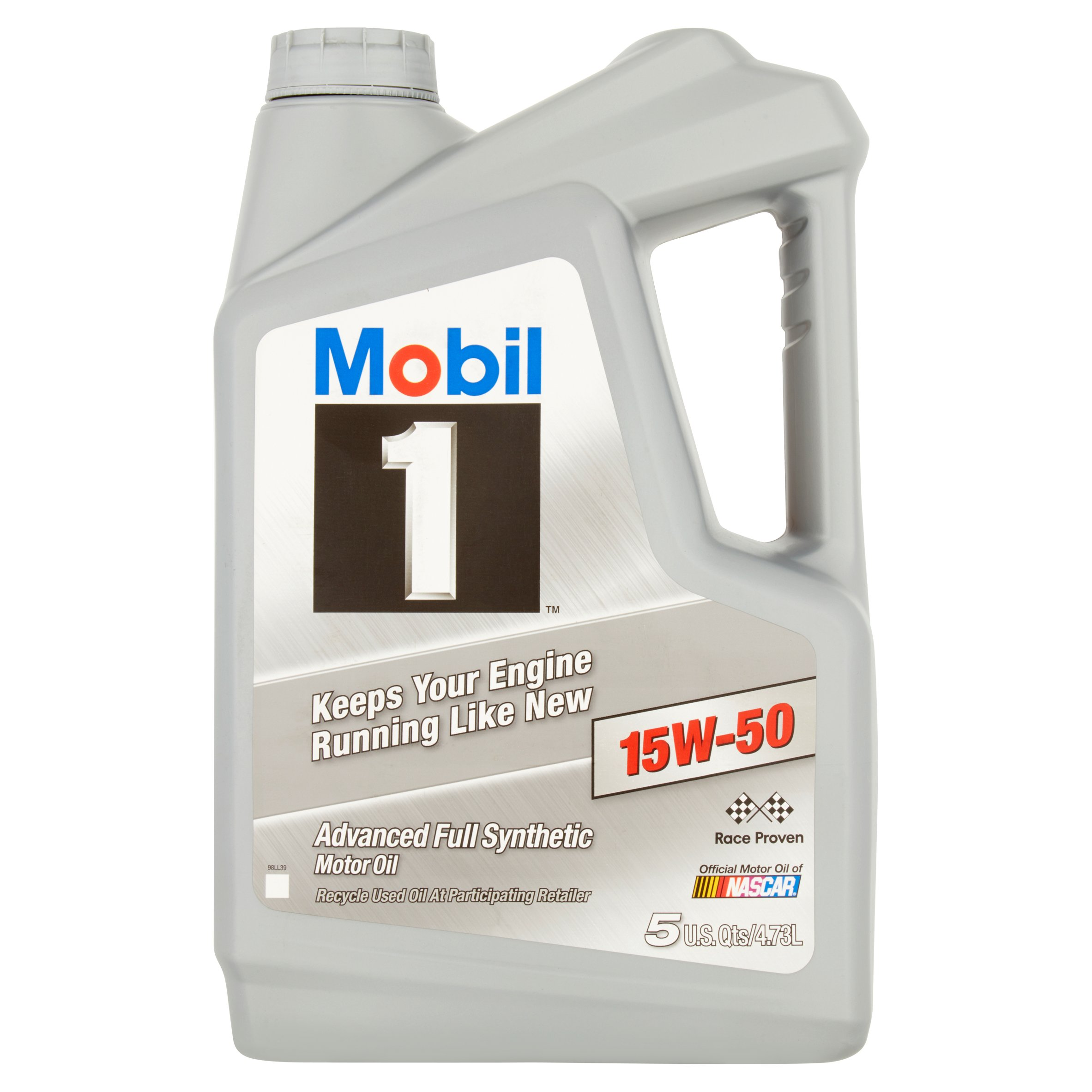 Mobil 1 15w 50 Full Synthetic Motor Oil 5 Qt 071924449343