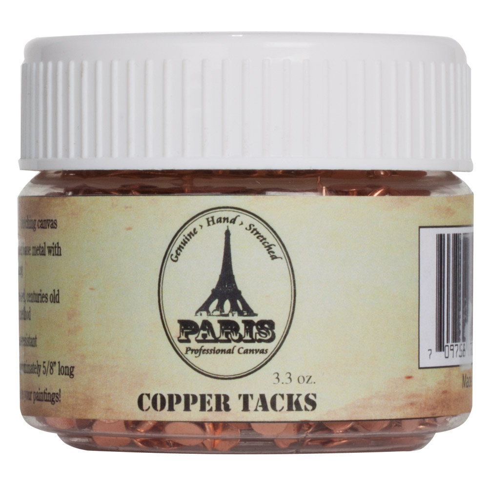 Paris Copper Canvas Stretching Tacks 100ml (3.3 oz.)