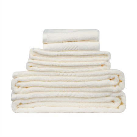 100% Cotton Bath Towel Set Soft Extra-Absorbent Bath Towels,Hand towels,Wash cloth ()