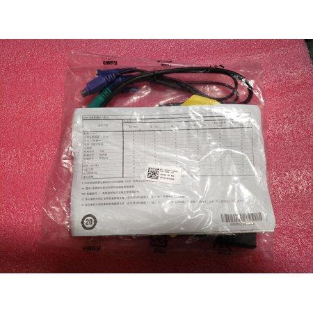 NEW Dell 0FG696 SIP Installation Pack 2 Cat5 System Interface Cables KVM CABLE Kvm Interface Cable