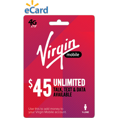 Virgin Mobile Data Share $45 (Email Delivery)
