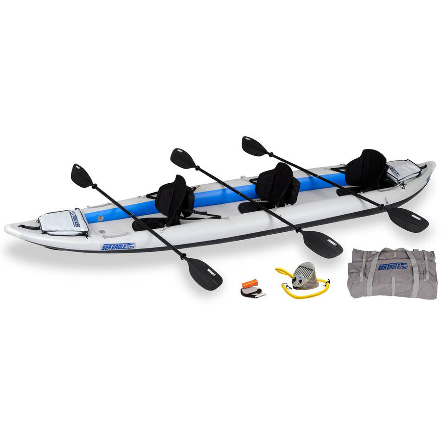 Sea Eagle FastTrack 465FTK Inflatable Kayak Pro by Sea Eagle