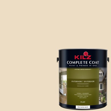 KILZ COMPLETE COAT Interior/Exterior Paint & Primer in One #LD210-01 Yards of