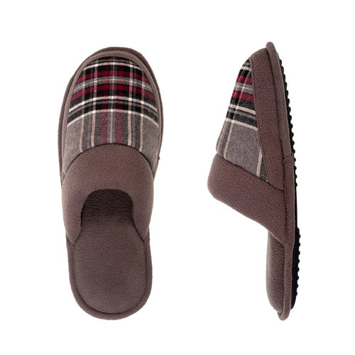 DF by Dearfoams Men's Slippers, Tan