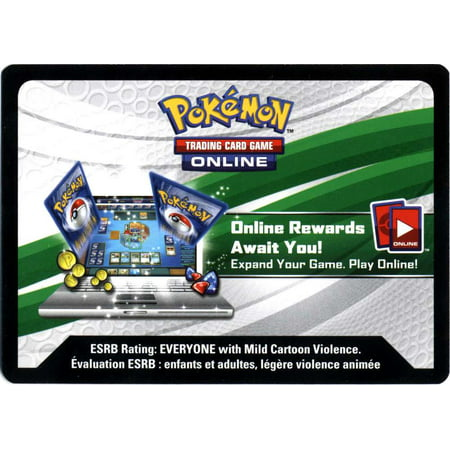 Pokemon Promo Aurorus-EX Box Single Online Code Card ()