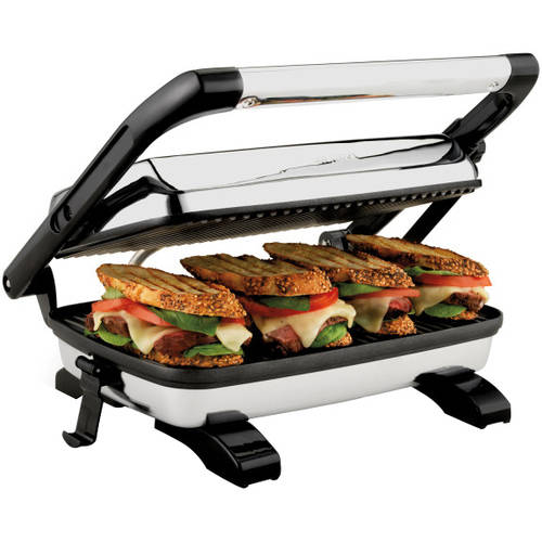 Proctor Silex Panini Press Gourmet Sandwich Maker, 25453A