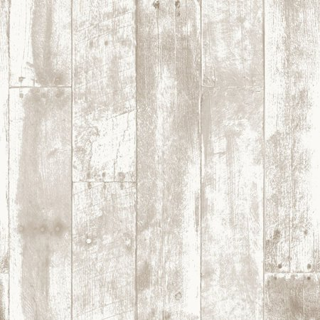 . Repeel Removable Reclaimed Wood Wallpaper