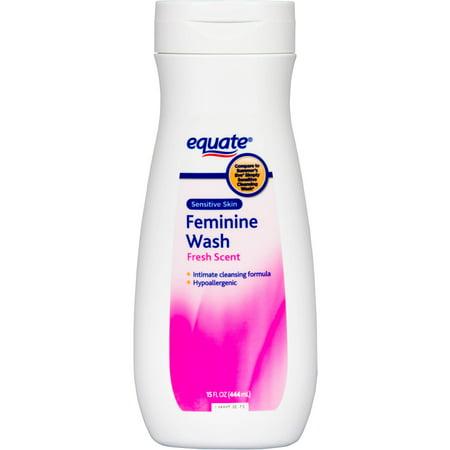 Equate Sensitive Skin Feminine Wash, 15 Oz