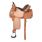 Silver Royal Fayette All Around Barrel Saddle