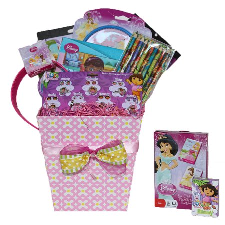 All Time Princess and Friends Easter Gift Baskets for Girls, Perfect Birthday , Get Well Gifts for Girls 3-8 Years Old