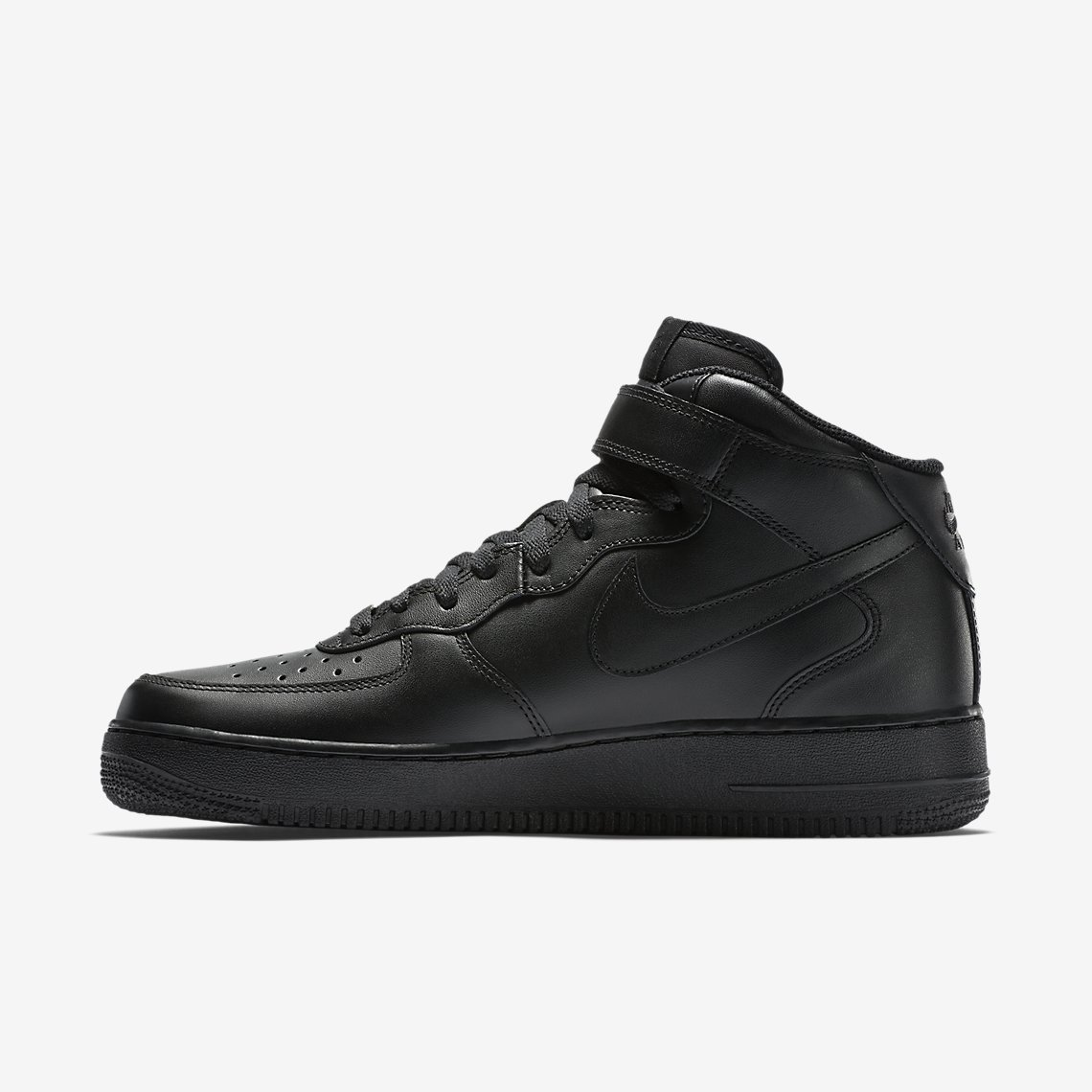 Nike Air Force 1 Mid '07 Mens Sneakers In Black 315123-001