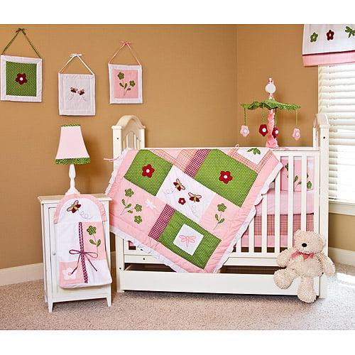 Spring Time 10-Piece Nursery-in-a-Bag Set