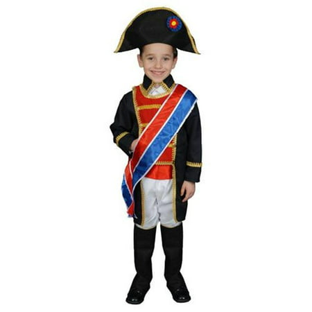Napoleon Costume Set - Large 12-14 (Halloween Games For 12-14 Year Olds)