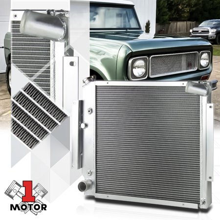 Aluminum 3 Row Core Performance Cooling Radiator for 70-81 Scout II 5.0/5.6 V8 71 72 73 74 75 76 77 78 79 80