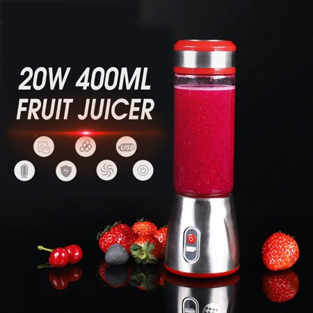 Electric Fruit Juice Extractor 20 Watt Centrifugal Juicer Machine Powerful Whole Fruit and Vegetable Juicer Stainless Steel Smoothie Blender Mini Nutrient