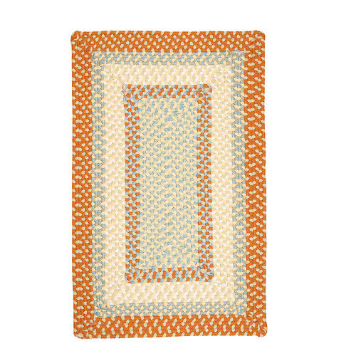 Colonial Mills Montego Tangerine Kids Indoor/Outdoor Area Rug