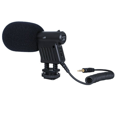 Movo VXR1000 Mini HD Shotgun Condenser Microphone for DSLR Video