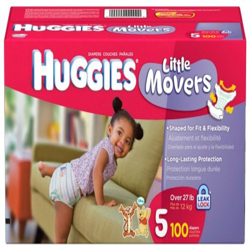 HUGGIES - Supreme Little Movers Diapers (choose your size)