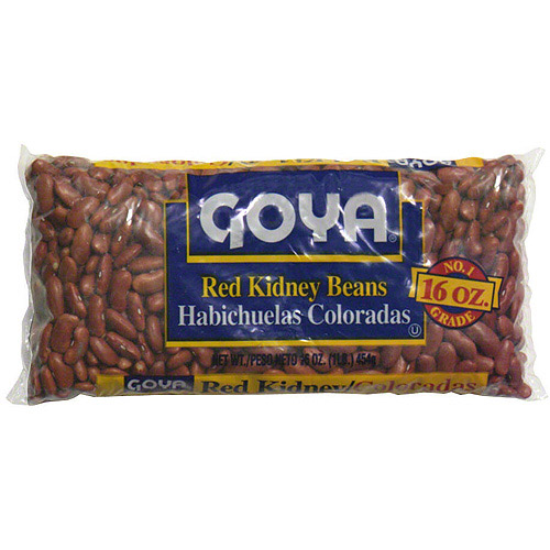 Goya Red Kidney Beans, 1 lb (Pack of 24)